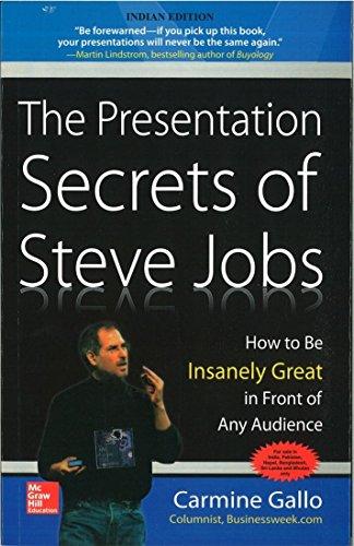 9780070683617: Presentation Secrets of Steve