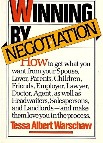 9780070683693: Winning by Negotiation