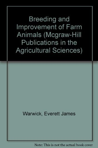 9780070683754: Breeding and Improvement of Farm Animals (Mcgraw-Hill Publications in the Agricultural Sciences)