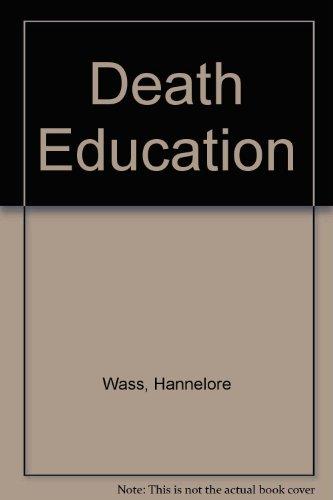 9780070684393: Death Education