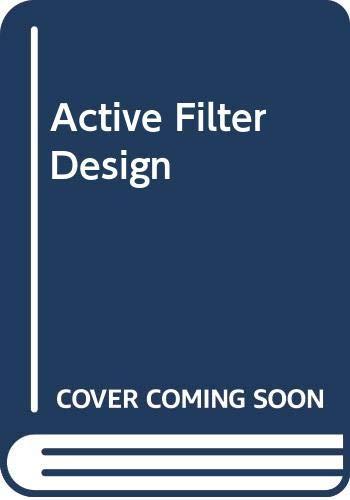 9780070684539: Active Filter Design