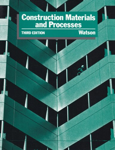 9780070684768: Construction Materials and Processes