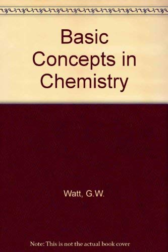 9780070685789: Basic Concepts in Chemistry