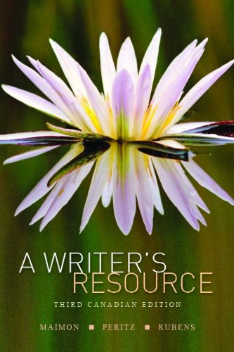 9780070685840: A Writer's Resource