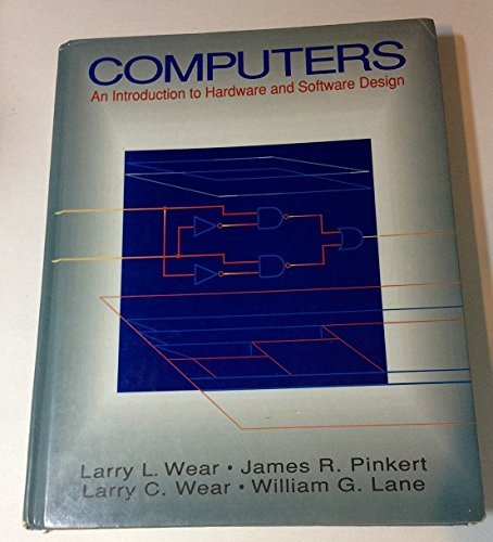 9780070686748: Computers: An Introduction to Hardware and Software Design