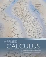 9780070687172: Applied Calculus for Business,Economics,& the Social & Life Sciences,Expanded Edition by Hoffmann,Laurence; Bradley,Gerald; Sobecki,Dave; Price,M. [2012,11th Edition.] Hardcover