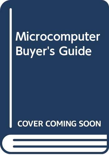 9780070689596: Microcomputer buyer's guide (Byte books)