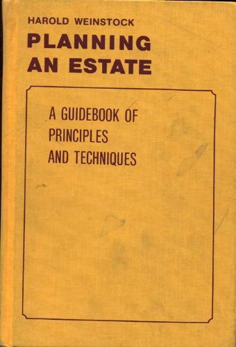 9780070690202: Planning an estate: A guidebook of principles and techniques