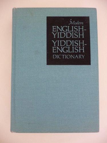 9780070690387: Modern English-Yiddish, Yiddish-English Dictionary (The McGraw-Hill library of international dictionaries)
