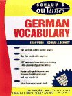 9780070691285: Schaum's Outline of German Vocabulary