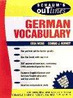9780070691285: Schaum's Outline of German Vocabulary