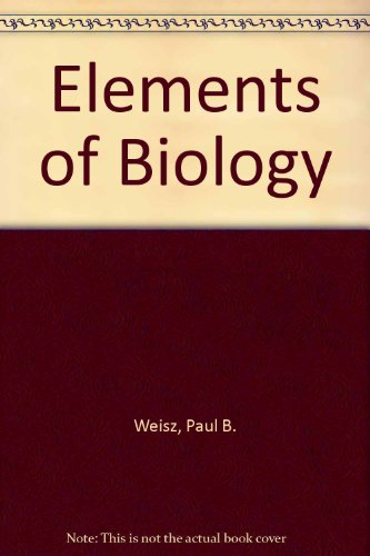 9780070691377: Elements of biology
