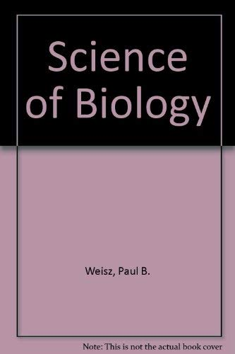9780070691452: The Science of Biology