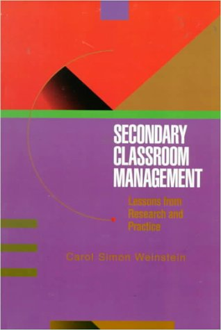 9780070691568: Secondary Classroom Management: Lessons from Research and Practice