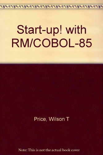 9780070692008: Start-up! with RM/COBOL-85