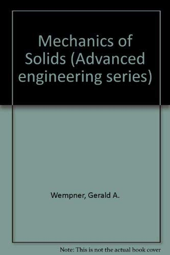 9780070692701: Mechanics of Solids (McGraw-Hill advanced engineering series)