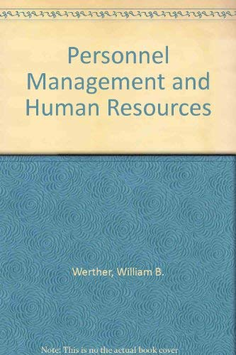 9780070694330: Personnel Management and Human Resources (McGraw-Hill series in management)