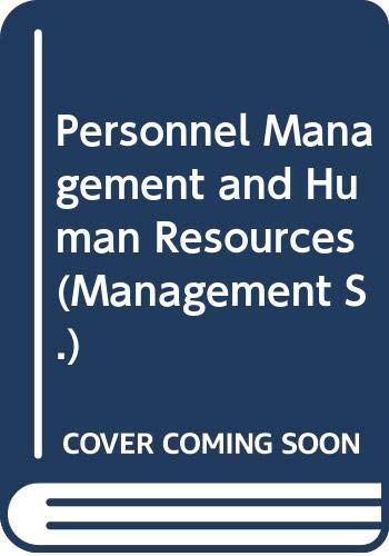 9780070694361: Personnel Management and Human Resources