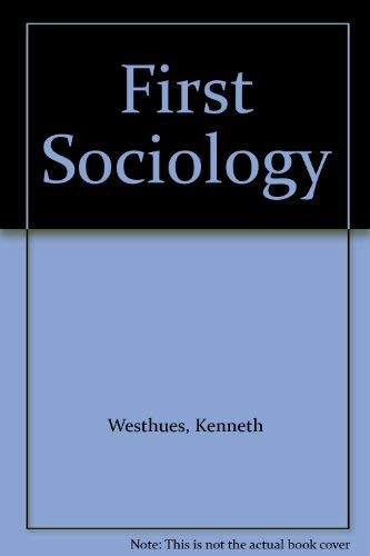 9780070694637: First Sociology