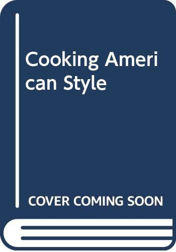 Cooking American Style: Crocker, Betty