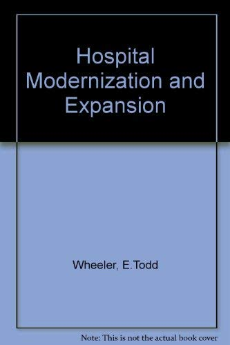 9780070695207: Hospital Modernization and Expansion