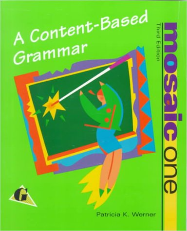 9780070695764: Mosaic One: A Content-Based Grammar
