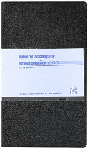 9780070695788: Videocassette: Vid Mosaic I [VHS]