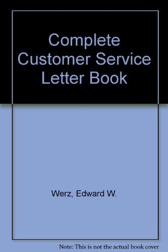 9780070695894: Complete Customer Service Letter Book
