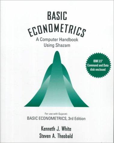 9780070698642: Basic Econometrics: A Computer Handbook Using Shazam IBM 3.5