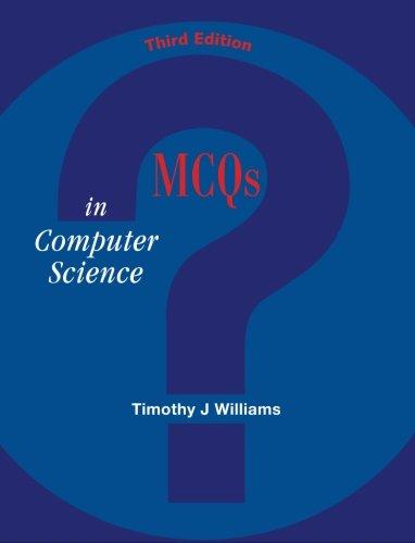 9780070699786: MCQs in Computer Science: 3/e