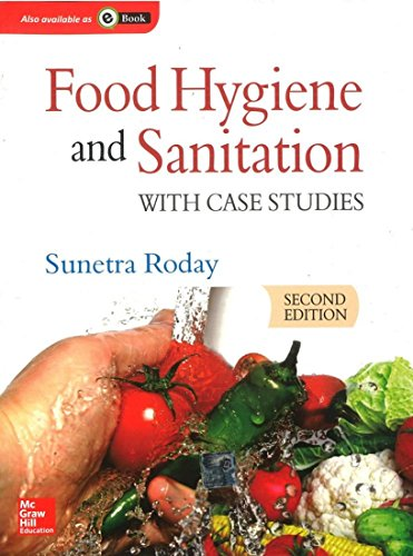food hygiene and sanitation with case studies second edition by