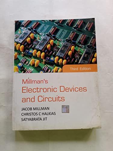 9780070700215: Millmans Electronic Devices And Circuits [Paperback] [Jun 24, 2010] Jacob Millman