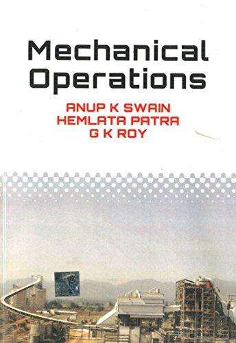 9780070700222: Mechanical Operations