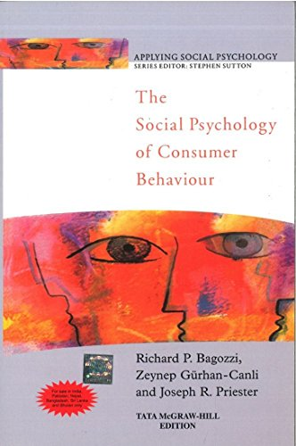 9780070700598: SOCIAL PSYCHOLOGY OF CONSUMER BEHAVIOUR