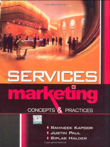 9780070700697: Services Marketing - Concepts & Practices