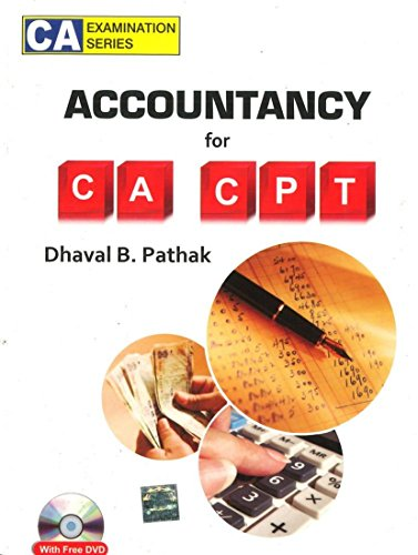 9780070700703: Accountancy for CA-CPT (With CD)