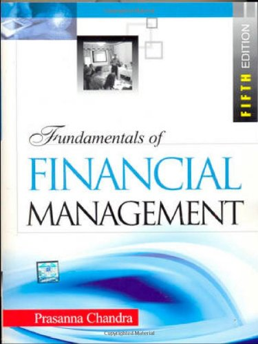 Prasanna chandra abebooks fundamentals of financial management fifth edition prasanna chandra fandeluxe Gallery