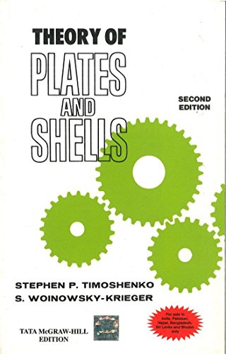 9780070701250: Theory of Plates and Shells
