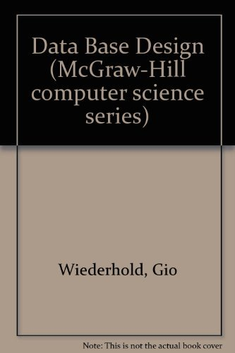 9780070701304: Database design (McGraw-Hill computer science series)