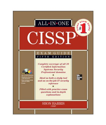 9780070701458: CISSP All-in-One Certification Exam Guide 5ED
