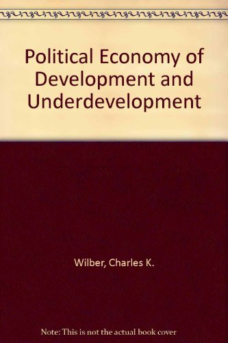 9780070701892: Political Economy of Development and Underdevelopment