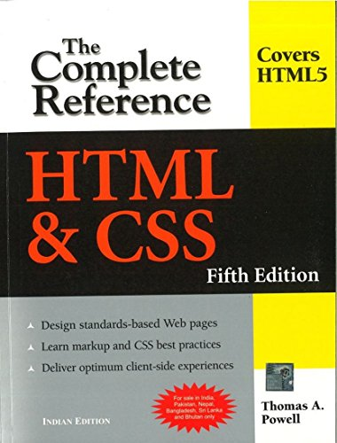 9780070701946: HTML & CSS: The Complete Reference