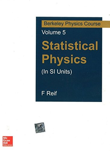 9780070702196: Statistical Physics (In Si Units): Berkeley Physics Course Vol 5 (Sie), 1Ed