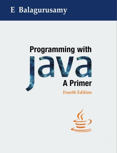 9780070702240: Programming with Java: A Primer, 4e