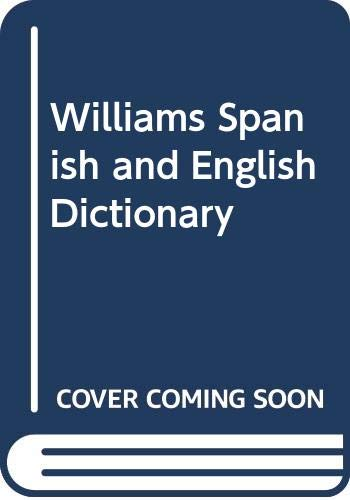 9780070703506: Williams Spanish and English Dictionary