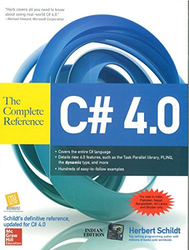 C# 4.0: The Complete Reference: Herbert Schildt