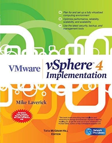 9780070703698: VMware VSphere 4 Implementation [Mike Laverick]