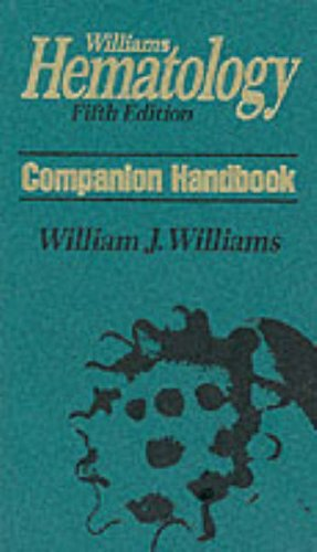 9780070703940: Williams Hematology, Companion Handbook