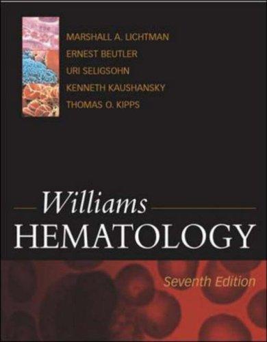 9780070703971: Williams Hematology, 6th Edition