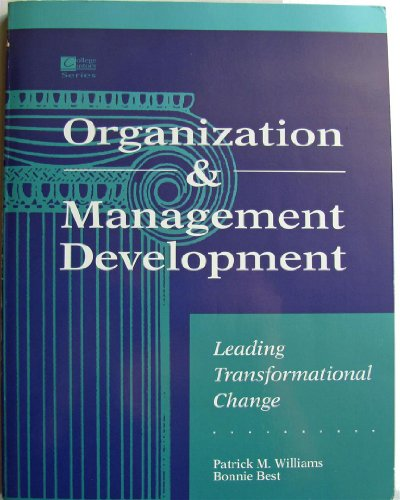 9780070704176: Organization&Management Development: Leading Transformational Change